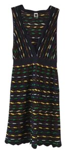 M Missoni short dress Striped Knit Crochet V Neck on Tradesy