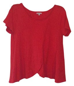 StyleMint Cotton T Shirt tomato red
