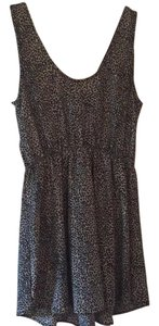Audrey short dress Animal print on Tradesy