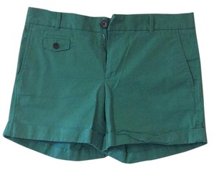 Banana Republic Cuffed Shorts Green