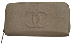 Chanel Caviar- Large zip around wallet