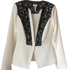 Laundry by Shelli Segal White Blazer