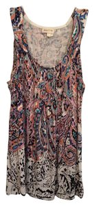 Anthropologie Top Print
