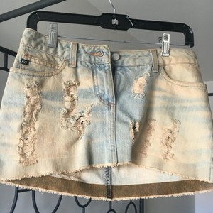 Miss Sixty Mini Skirt Jean