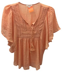 Only Mine Lace Top Coral