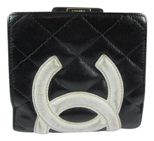 Chanel Cambon - Black, Quilted Leather &