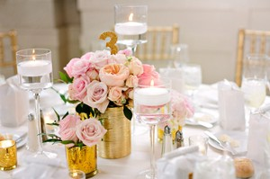 Bhldn Gold Sparkle Table Numbers