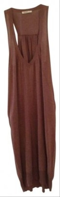 Humanoid short dress brown Comfortable Racerback on Tradesy