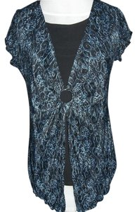 Notations Black Under Layer Large Top Blue