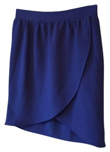 Francesca's Mini Skirt Blue