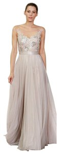 Watters Bridesmaid Gown Lace Dress