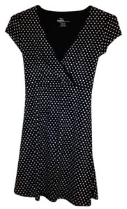 Other short dress Polka Dot Organic Black & White on Tradesy