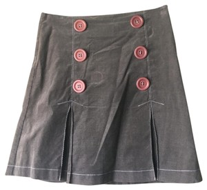 Ruthie Davis Mini Skirt Grey