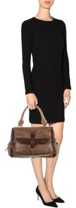 Chloé Soft Leather Unstructured Chloe Pockets Slouchy Satchel in Brown