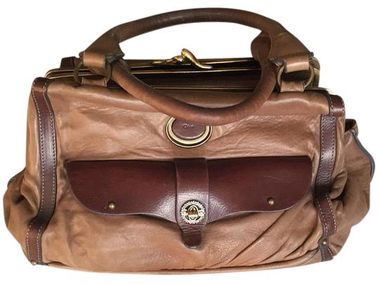 Chloé Soft Leather Unstructured Pockets Slouchy Satchel in Brown Image 1