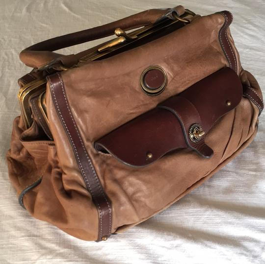 Chloé Soft Leather Unstructured Pockets Slouchy Satchel in Brown Image 2