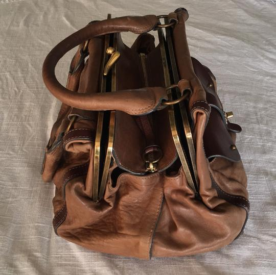 Chloé Soft Leather Unstructured Pockets Slouchy Satchel in Brown Image 3