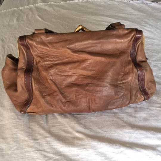 Chloé Soft Leather Unstructured Pockets Slouchy Satchel in Brown Image 4