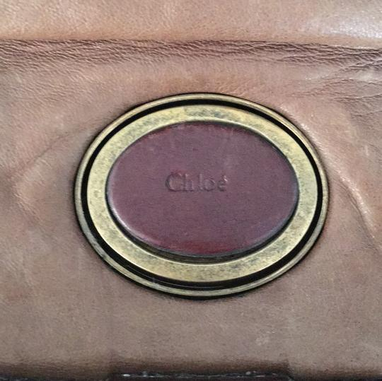 Chloé Soft Leather Unstructured Pockets Slouchy Satchel in Brown Image 9