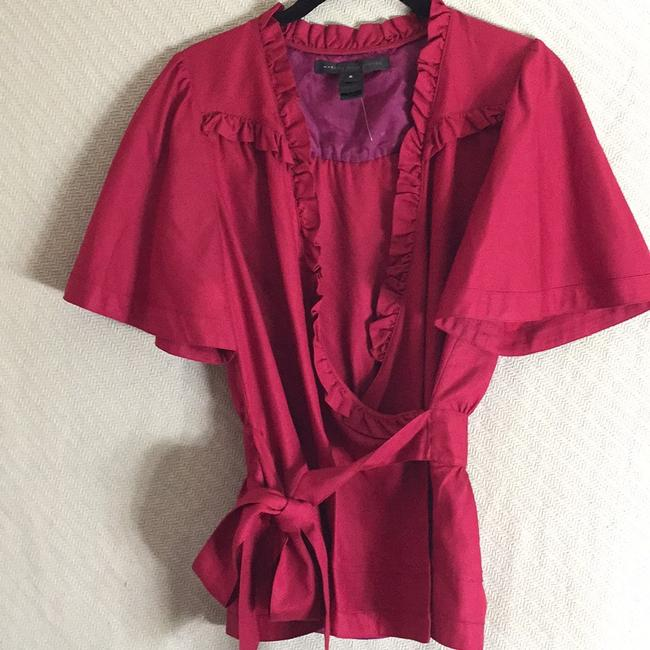 Marc by Marc Jacobs Top Maroon