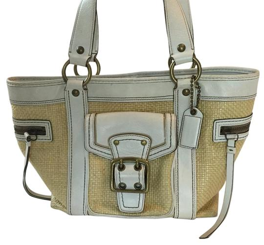 Preload https://item4.tradesy.com/images/coach-summer-straw-and-leather-shoulder-bag-185083-0-2.jpg?width=440&height=440