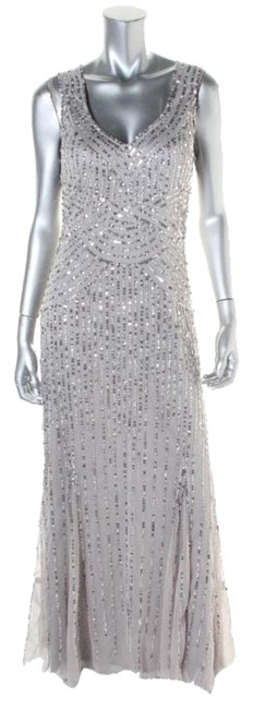 Preload https://img-static.tradesy.com/item/18508525/patra-silver-formal-long-night-out-dress-size-petite-10-m-0-1-650-650.jpg