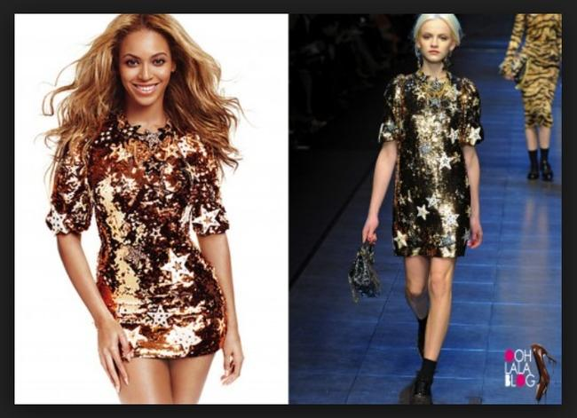 Dolce&Gabbana Runway Sexy Sequined Star Gown Dress Image 7