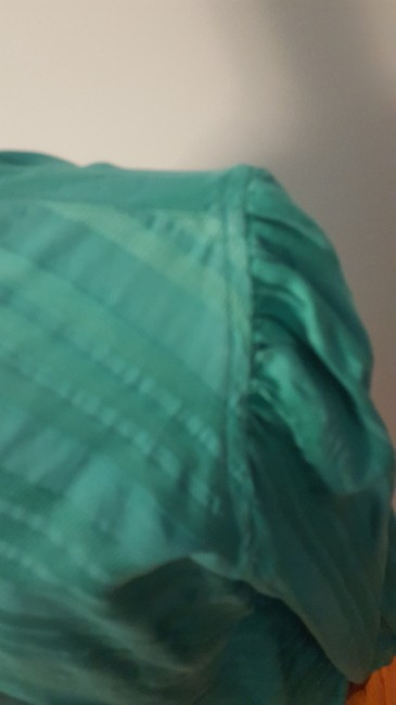 A X Armani Exchange Striped Top Turquoise Image 3