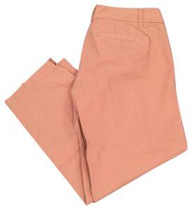 Ann Taylor LOFT Straight Pants Tan