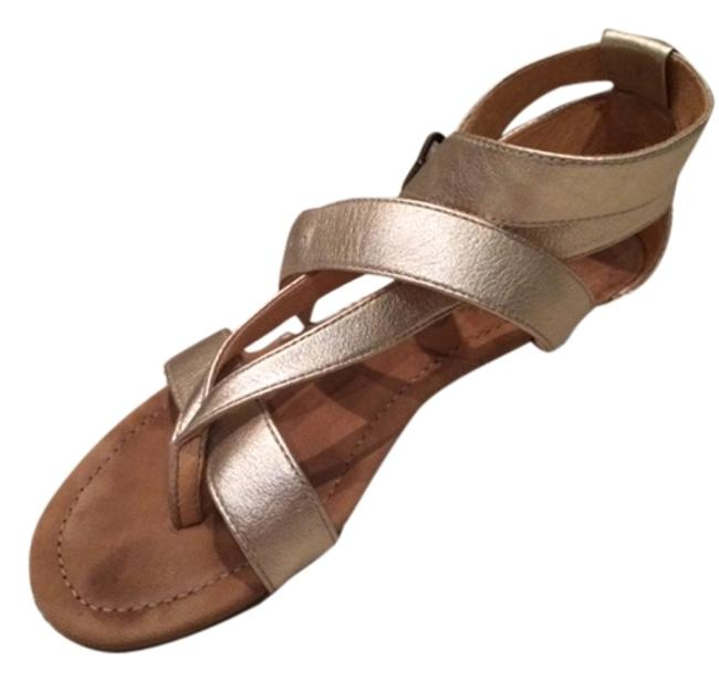 Item - Gold Sandals Size US 5 Regular (M, B)