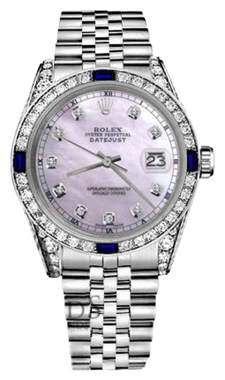 Preload https://img-static.tradesy.com/item/18509698/rolex-ladies-26mmdatejust-pinkmop-dial-sapphire-and-diamond-bezel-accent-watch-0-2-540-540.jpg