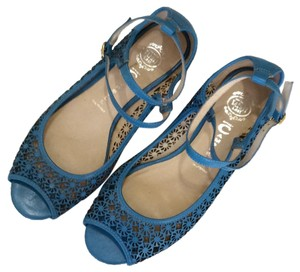 Jeffrey Campbell Blue Flats