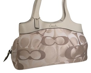 Coach Handbag Tote in Multicolor CREAM IVORY