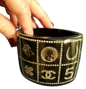 Chanel Chanel Collector Cuff Bracelet; Professionally Authenticated!