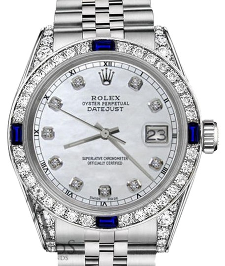 Preload https://img-static.tradesy.com/item/18511798/rolex-36mm-datejust-white-mop-dial-sapphire-and-diamond-bezel-watch-0-2-540-540.jpg