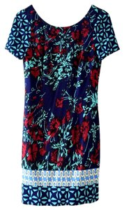 Plenty by Tracy Reese short dress Floral Blue on Tradesy