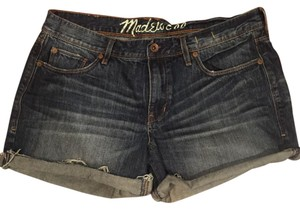 Madewell Cut Off Shorts Blue