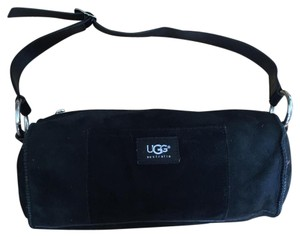 UGG Australia Sheepskin Adjustable Strap Shoulder Bag
