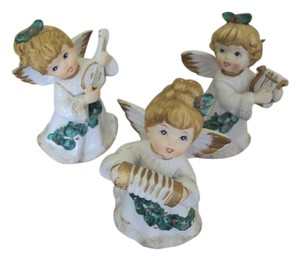 Homco Vintage Homco Angel Christmas Lot of 3