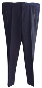 Banana Republic Sloan Fit Capri/Cropped Pants True navy blue