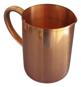 Other Solid Copper Pitcher Signed