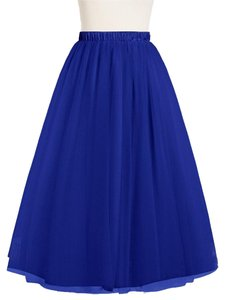 Boutique 9 Tulle Maxi Skirt Royal blue