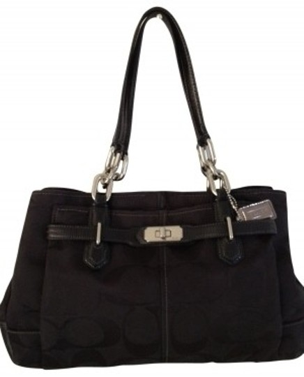 Preload https://item5.tradesy.com/images/coach-chelsea-jaydon-17806-black-signature-fabric-wpatent-leather-trim-satchel-18514-0-0.jpg?width=440&height=440