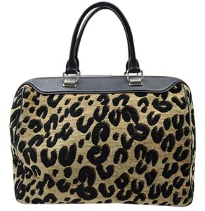 Louis Vuitton Sprouse Speedy Satchel in Leopard