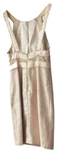 Phoebe Couture Metallic Kay Unger Dress