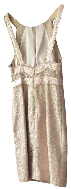 Phoebe Couture Kay Unger Tweed Coctail Dress