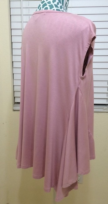 Malloy Draped Sleeveless Top Pink