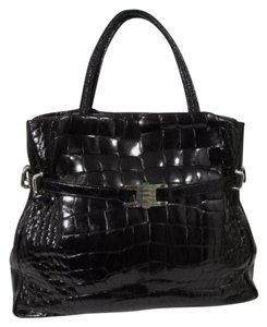 LANA MARKS Alligator Shoulder Bag