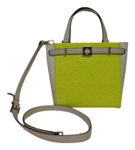 Kate Spade Exotic Ostrich Leather Cross Body Bag
