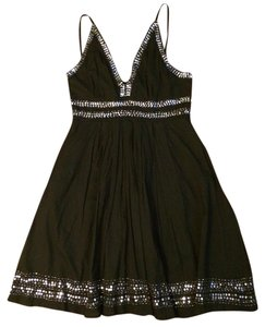 Other short dress Black Lipstick Sequin Spaghetti Strap on Tradesy